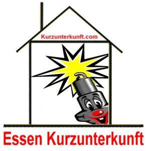 Essen Kurzunterfunft im Ruhrgebiet finden Hotel Ferienwohnung Pension Ferienhaus Jugendherberge Camping
